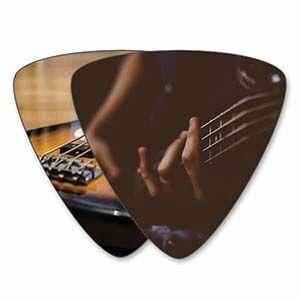 Own Guitar Picks - Bass Guitar Picks - Double Sided