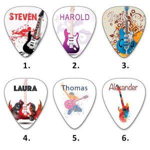Own Guitar Picks - Guitar Picks - Your Name Picks
