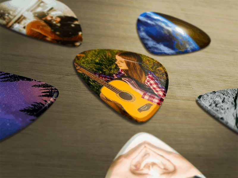 Custom Guitar Pick - Available from 6 picks