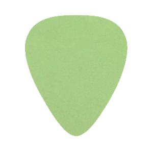 Delrin Picks - Green - Custom