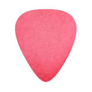 Delrin Picks - Red - Custom