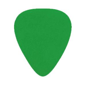 Nylon Picks - Green - Custom