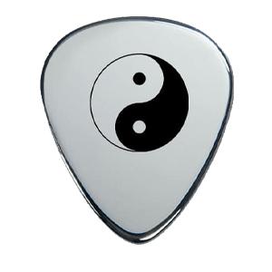 Silver Pick - YinYang
